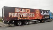 Promotionele oplegger BKJN vs Partyraiser
