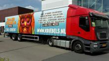Promotionele oplegger Kriebels.nl